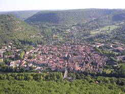 Vue de Saint-Antonin Noble Val